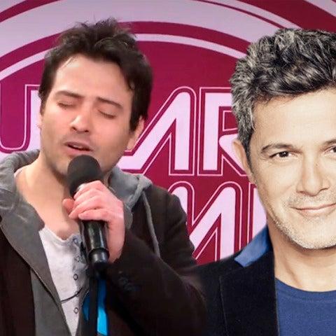 Alejandro Sanz se sorprende con su imitación en los castings de 'Tu cara no me suena todavía'