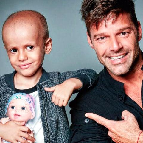 Ricky Martin se suma a la lucha contra el cáncer infantil