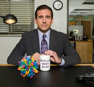 Steve Carrell en 'The Office'