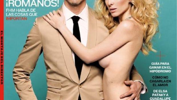 Paco León y Kira Miró posan juntos para 'FHM'
