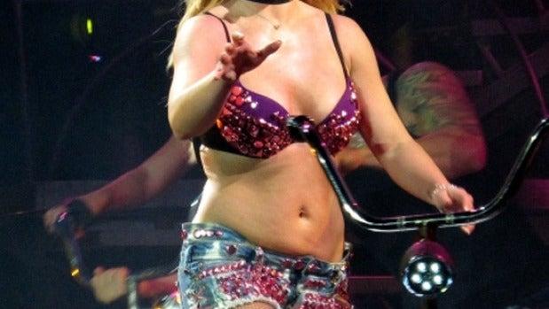 Britney Spears no luce el tipazo de antaño