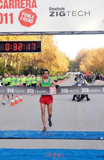 El ganador de 10 km