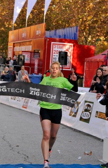La ganadora de 10 km