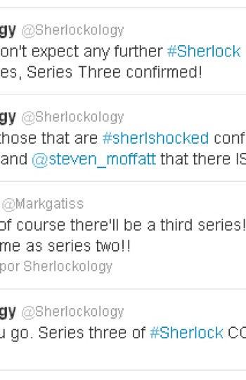 Sherlock en Twitter