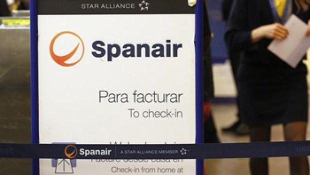 Mostrador de atención de Spanair