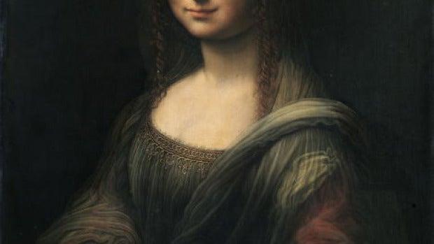 La Gioconda del Prado, con el fondo negro