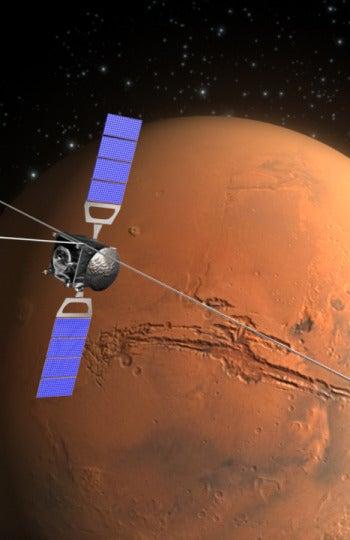 Marte desde el espacio