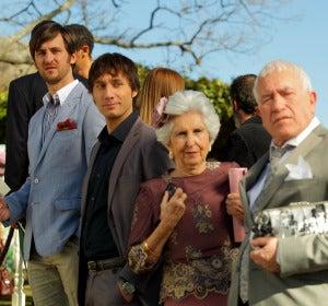 Jorge, Ángel, Juana y Serafín