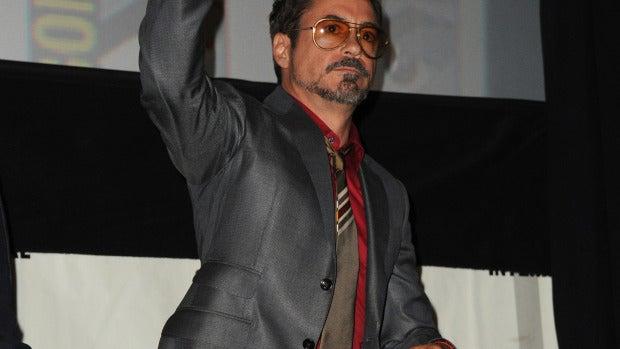 Robert Downey Jr. es todo un Iron man