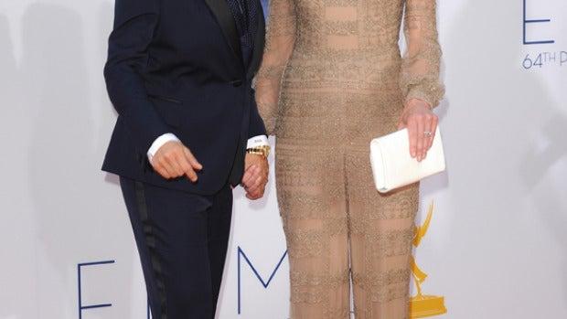 La presentadora Ellen DeGeneres junto a su mujer Portia di Rossi