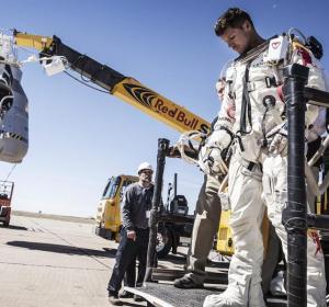 El piloto austriaco Felix Baumgartner