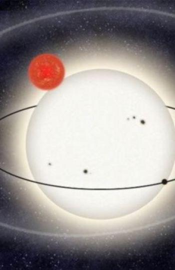 La órbita del planeta PH1