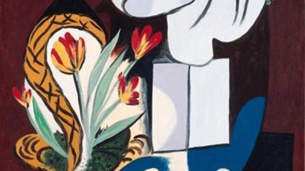 'Nature morte aux tulipes' de Pablo Picasso