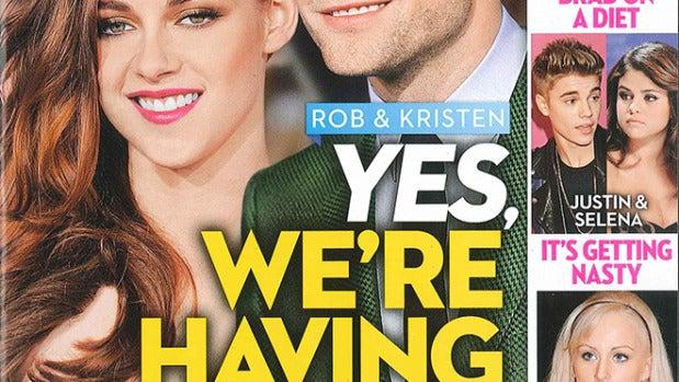 Rumores de embarazo para Kristen Stewart y Robert Pattinson