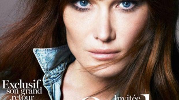 Carla Bruni, portada de la Vogue francesa