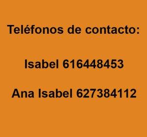 Teléfonos de contacto de las voluntarias