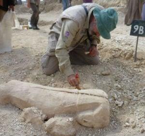 Sarcófago hallado en Egipto