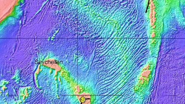 Mauritia estaría entre las Islas Reunión y Mauricio
