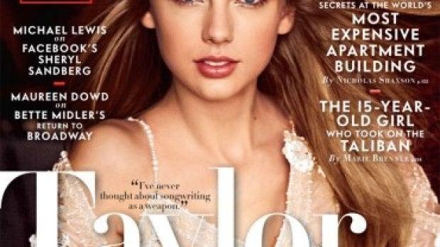 Taylor Swift protagoniza el último número de Vanity Fair