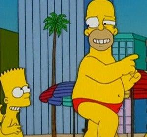 Los Simpson de viaje