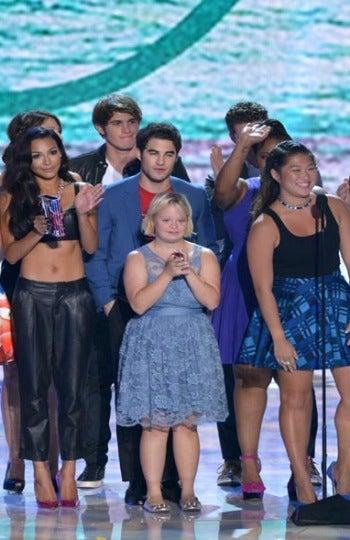 Los actores de 'Glee' en la ceremonia de TCA 2013