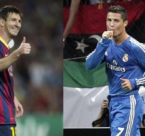 Messi y Cristiano Ronaldo, a la caza de Raúl en Europa