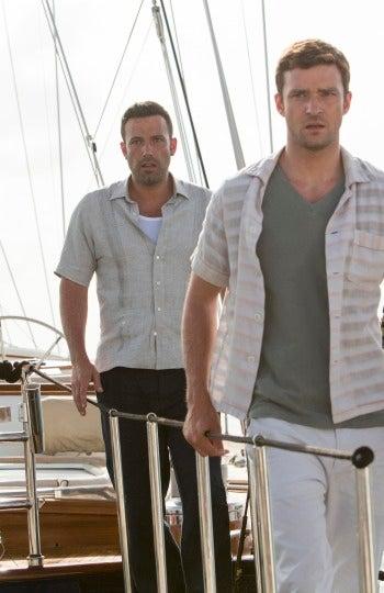 Ben Affleck y Justin Timberlake protagonizan esta película de Brad Furman