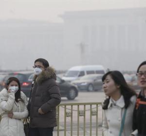 La contaminación envuelve China