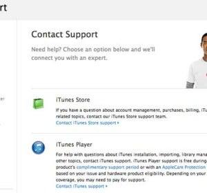 Web de ITunes Apple