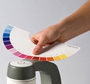 Detector de la tonalidad de color