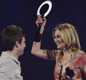 Noel Gallagher y Kate Moss