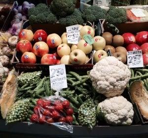 Nada mejor que las frutas y verduras recién recogidas