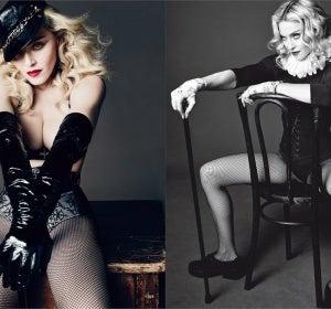 Las fotos de Madonna para L'Uomo Vogue