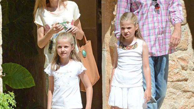 La Familia Real de paseo por la finca Raixa