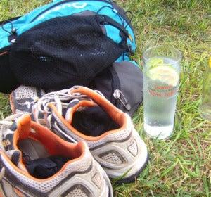 Running y gin tonic