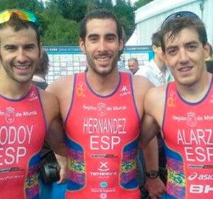 Triatletas españoles