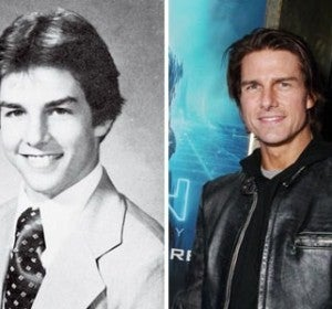 La elegancia de Tom Cruise ya destacaba en el cole
