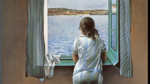 'Muchacha en la ventana', de Dalí
