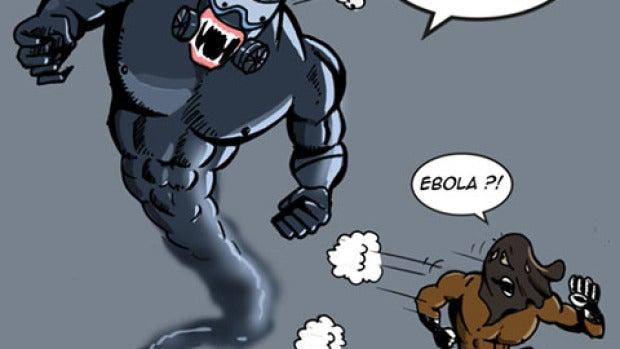 Delestron huye del ébola