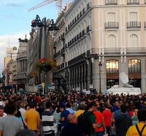 Manifestación 'Rodea El Congreso' 4 de octubre