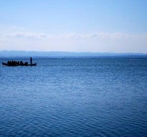 Un paseo en barca, para reponer fuerzas