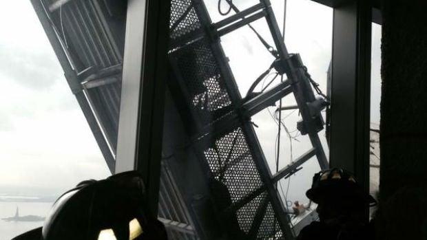 Imagen del rescate facilitada por los bomberos