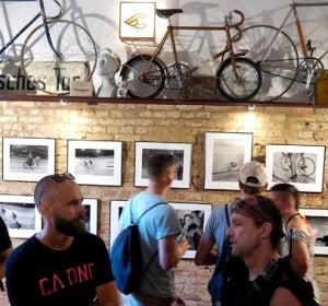 Bicicletas en un bar alemán