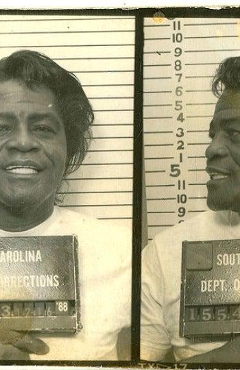 Foto policial de James Brown