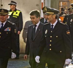 Tras el funeral del agente muerto