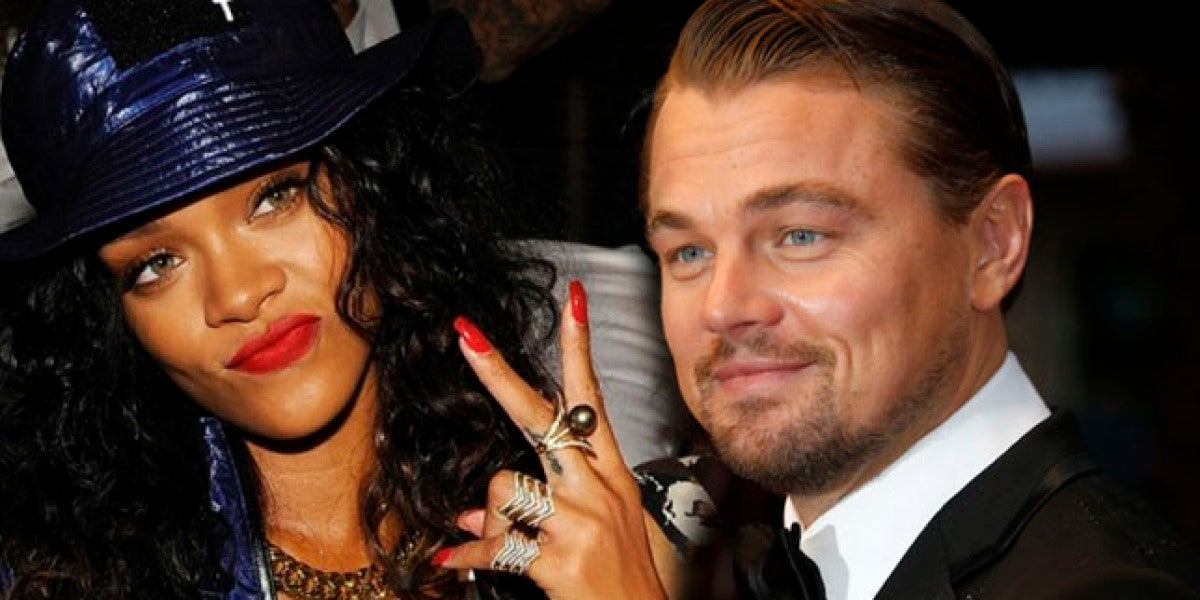 Leonaro DiCaprio y Rihanna, ¿juntos?