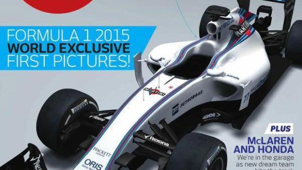 Portada de F1 Racing con el FW37