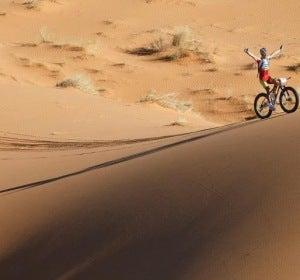 Milton Ramos en la Titan Desert