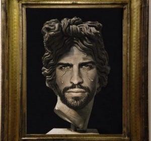 'Portrait of Gerard Piqué as Apollo del Belvedere'