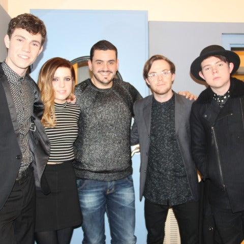 Ecosmith junto a Juan Romero en Europa FM